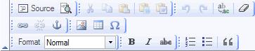 FCKeditor Revised Toolbar